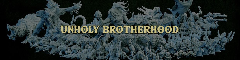 Unholy Brotherhood de la Ravenous Hordes de Resin Warfare