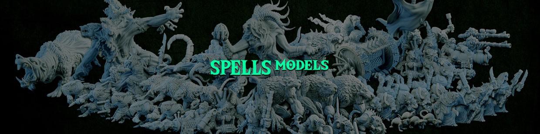 Spells Models de la Ravenous Hordes de Resin Warfare