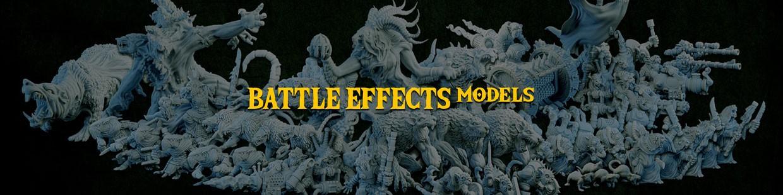 Battle Effects Models de la Ravenous Hordes de Resin Warfare