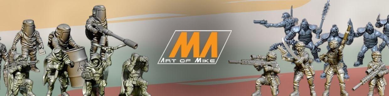 Art of Mike de Science Fiction pour Warhammer 40.000, Infinity, Necromunda, etc.