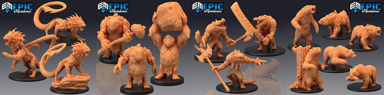 Dark Swamp de Epic Miniatures pour Warhammer 9th age, AOS, KOW,...