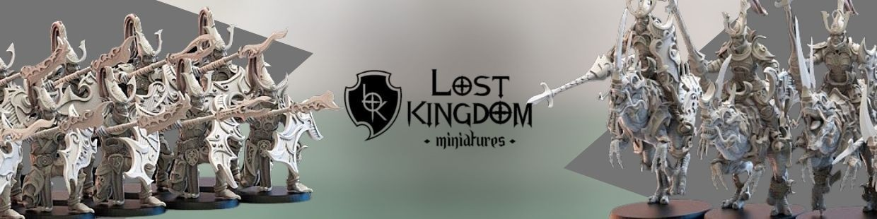 Night Elves de Lost Kingdom Miniatures pour Warhammer 9th age, AOS, KOW,...
