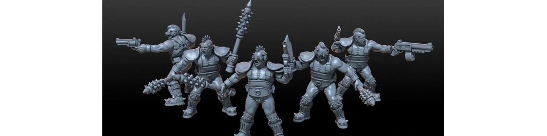 Gang Necromunda de Art of Mike pour Warhammer 40.000, Infinity, Necromunda, etc.