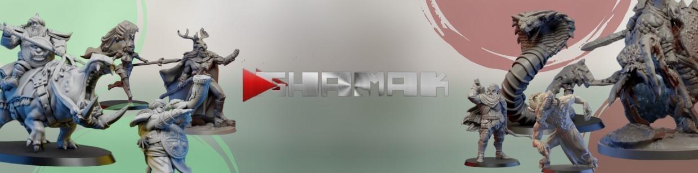 Ghamak de Heroic Fantasy pour Warhammer 9th age, AOS, KOW,...