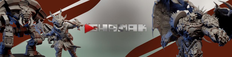 Chaos de Ghamak pour Warhammer 40.000, Infinity, Necromunda, etc.
