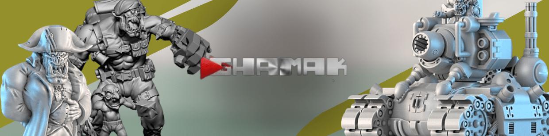 Ork de Ghamak pour Warhammer 40.000, Infinity, Necromunda, etc.