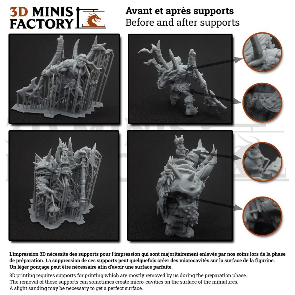 Explication post traitement 3D Minis Factory